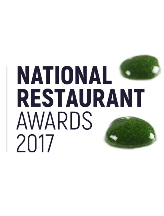 The national restaurant awards 2017 plancton veta la palma for Cuisine 2017 restaurant awards