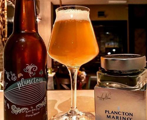 cerveza con plancton