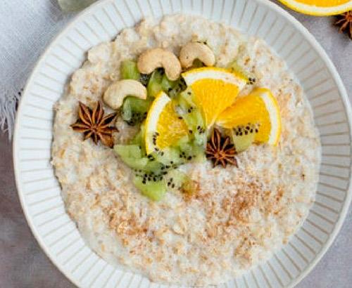 Desayuno con avena